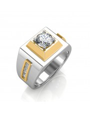 The Khufu Solitaire Ring For Him