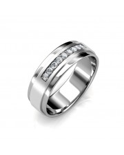 The William Ring For Him - Platinum
