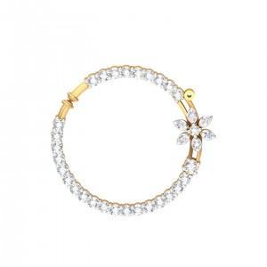 The Toriana Nose Ring - 0.49 carat