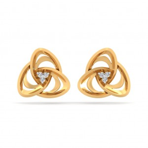 Infinity Diamond Earring