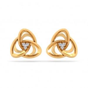 Infinity Diamond Earring