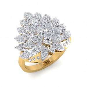 The Marquise Floral Ring
