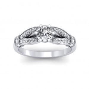 0.51 carat Platinum - Nelly Engagement Ring