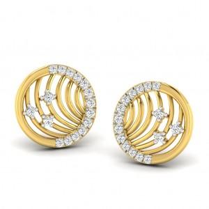 The Liri Circular Earrings