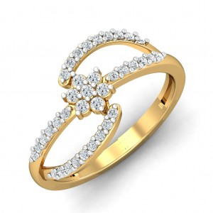 The Abigail Floral Ring