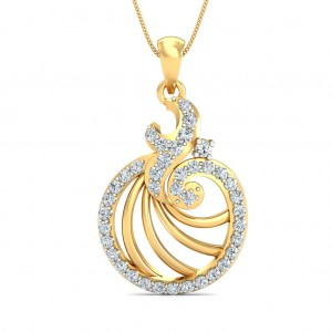 The Sally Circular Pendant