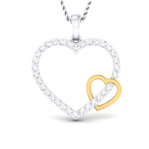 The Interlinked Heart Pendant