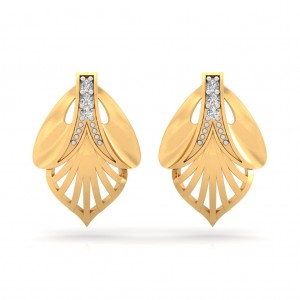 The Chelsy Leaf Earrings