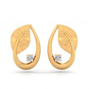 The Regal Leaf Earrings