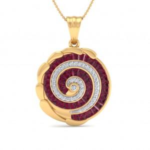 Encircle Diamond Pendant