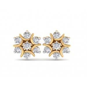 The Nova Naksh Diamond Earrings