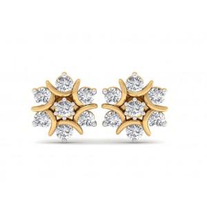 The Nova Naksh Diamond Earrings