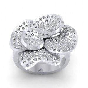 The Love Floral Ring