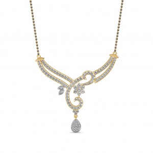 The Tilaka Diamond Mangalsutra