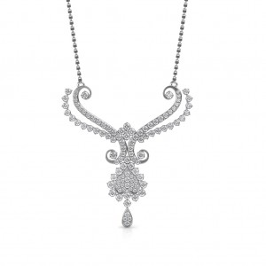 The Hridaya Diamond Mangalsutra