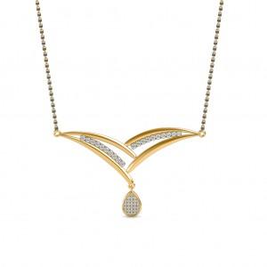 The Sattvaye Diamond Mangalsutra