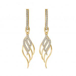 The Gelsy Leaf Earrings