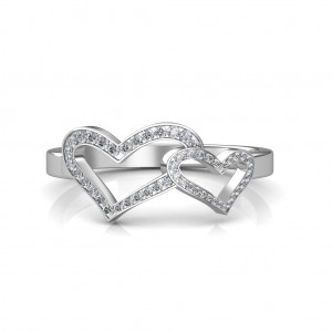 Diamond Ring - Heart shape