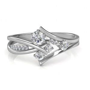 0.51 carat Platinum - Elisa Engagement Ring
