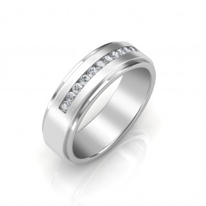 The Charles Platinum Ring For Him