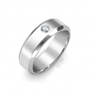 The James Platinum Ring For Him