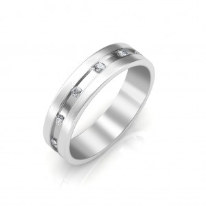 The Harrison Platinum Ring For Him