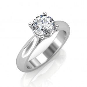 0.30 carat Platinum - Classic Engagement Ring
