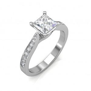 0.44 carat Platinum - Ayesha Engagement Ring