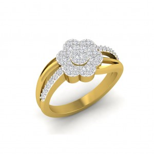 Reeva Wedding Diamond Ring
