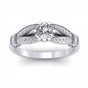 The Nelly Solitaire Ring