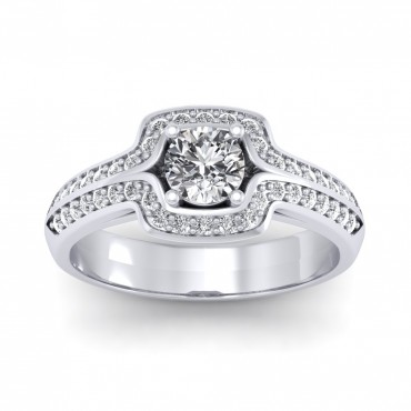 The Amanda Solitaire Ring