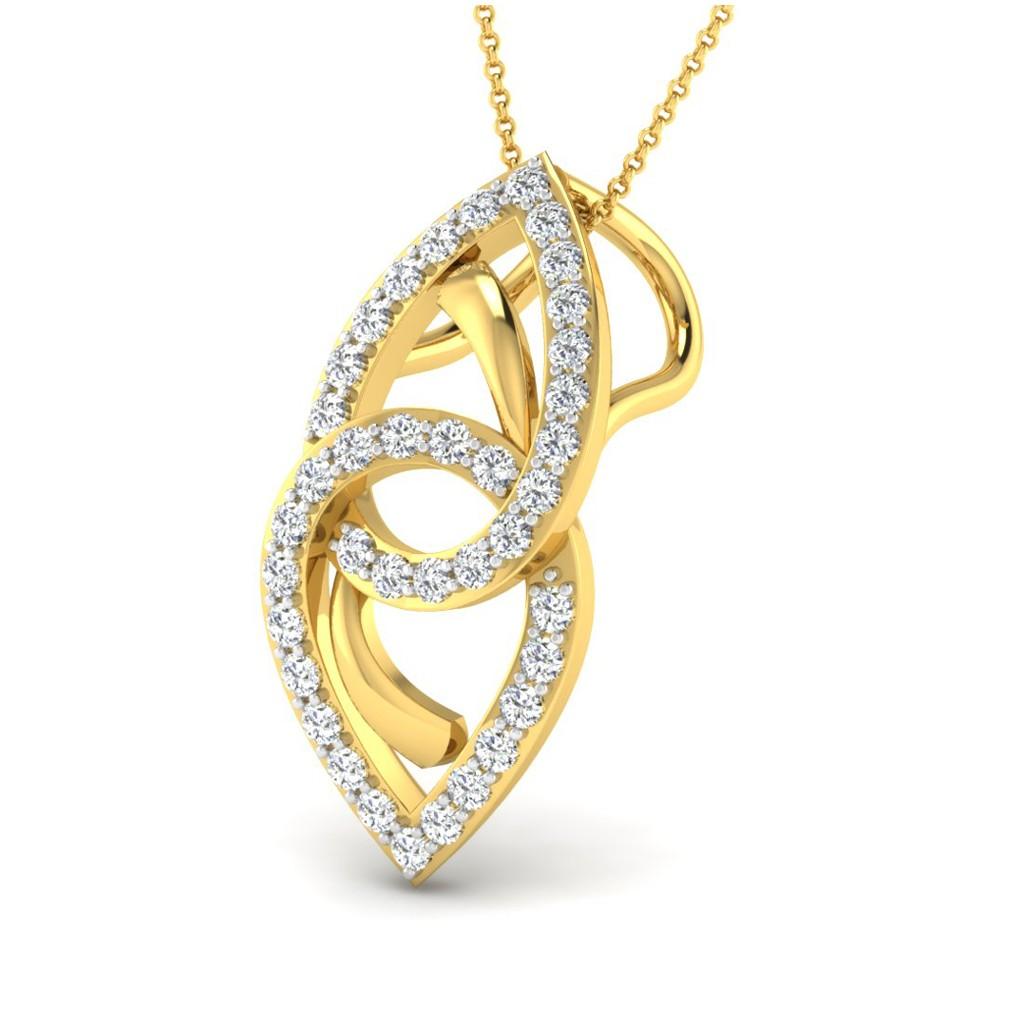 The Linked Ocular Pendant - Diamond Jewellery at Best
