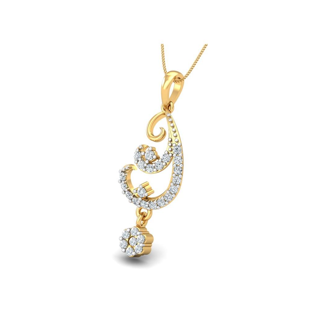 The Harmony Pendant - Diamond Jewellery at Best Prices in