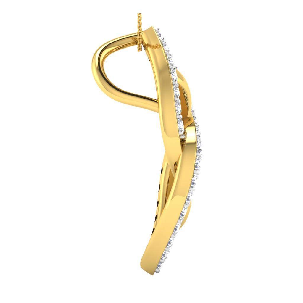 The Majestic Ganesha Pendant - Diamond Jewellery at Best