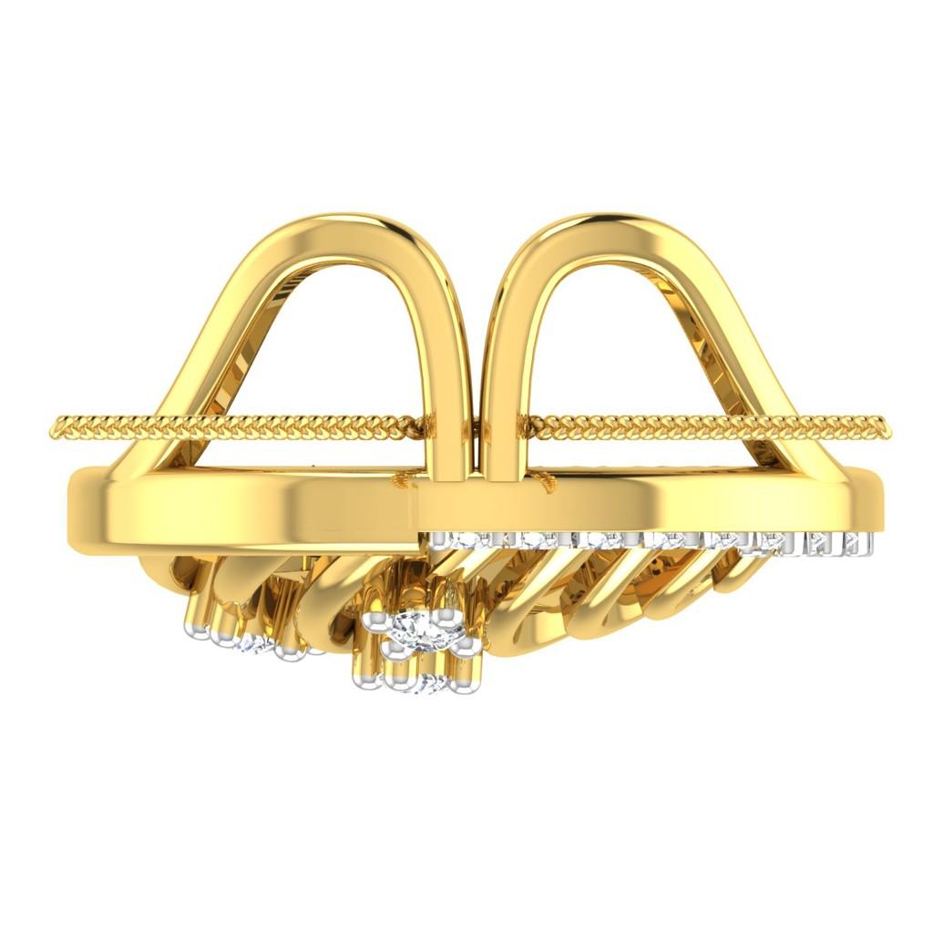 The Eternity Marquise Pendant - Solitaire Diamond Pendant