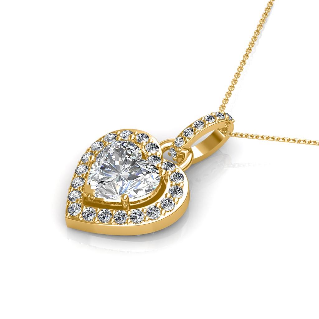 The Elysium Pendant - Solitaire Diamond Pendant at Best