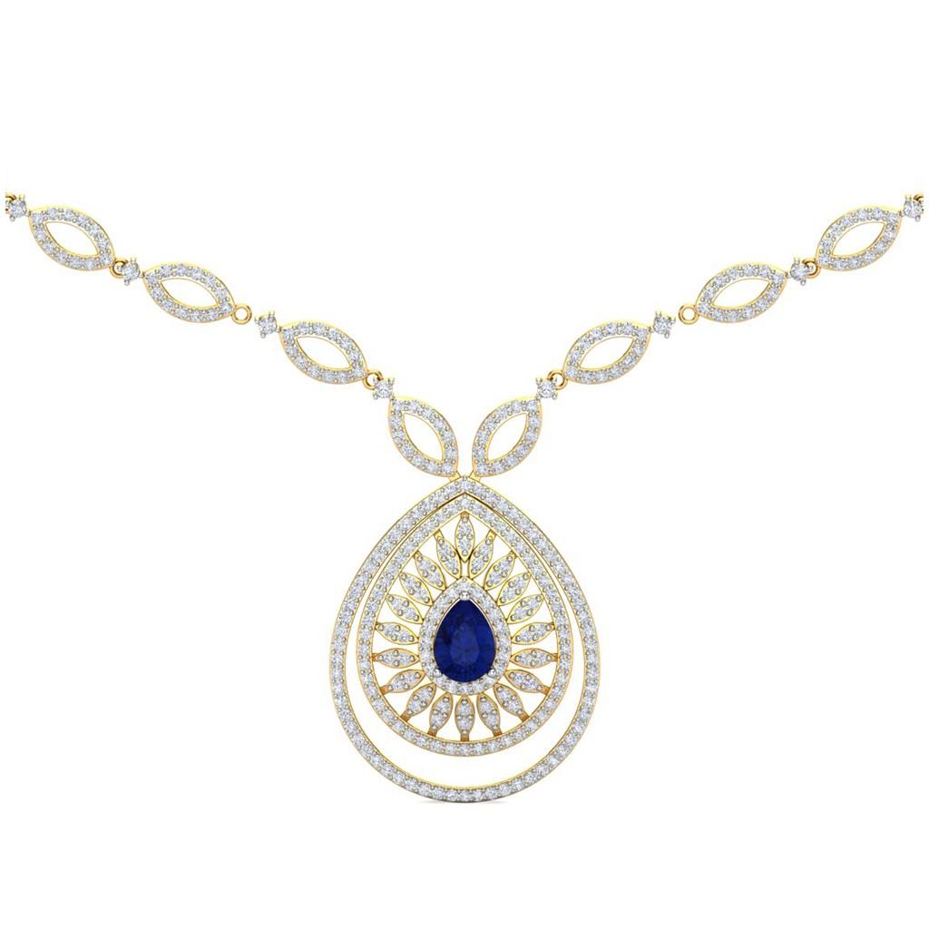 The Belinda Diamond Necklace Diamond Jewellery At Best Prices In