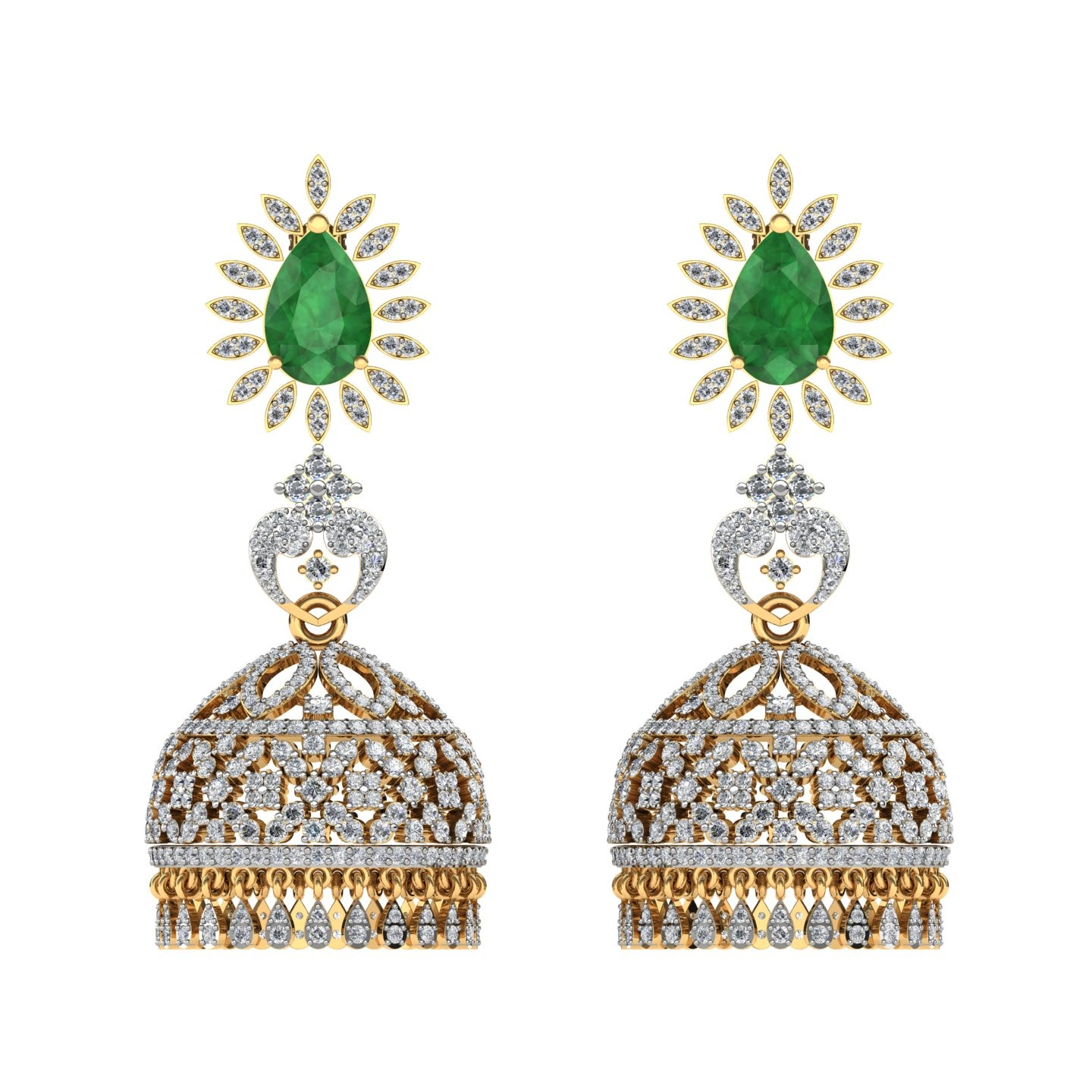 The Alyne jhumka Earrings