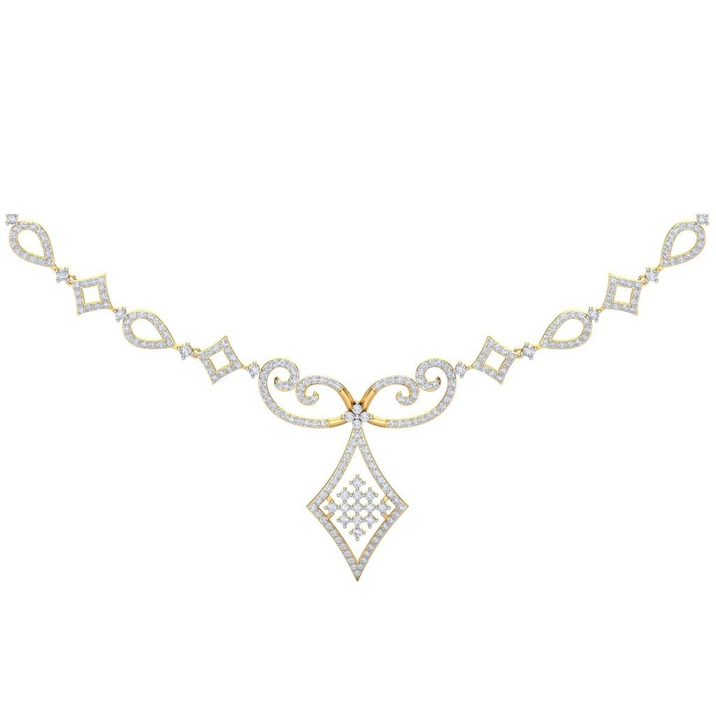 The Victoria Diamond Necklace Diamond Jewellery At Best Prices