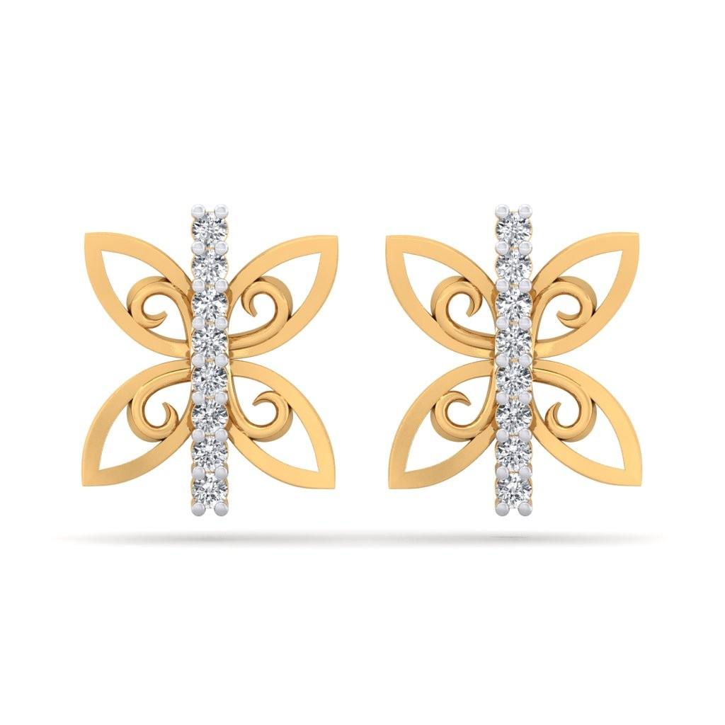 The Elena Butterfly Earrings