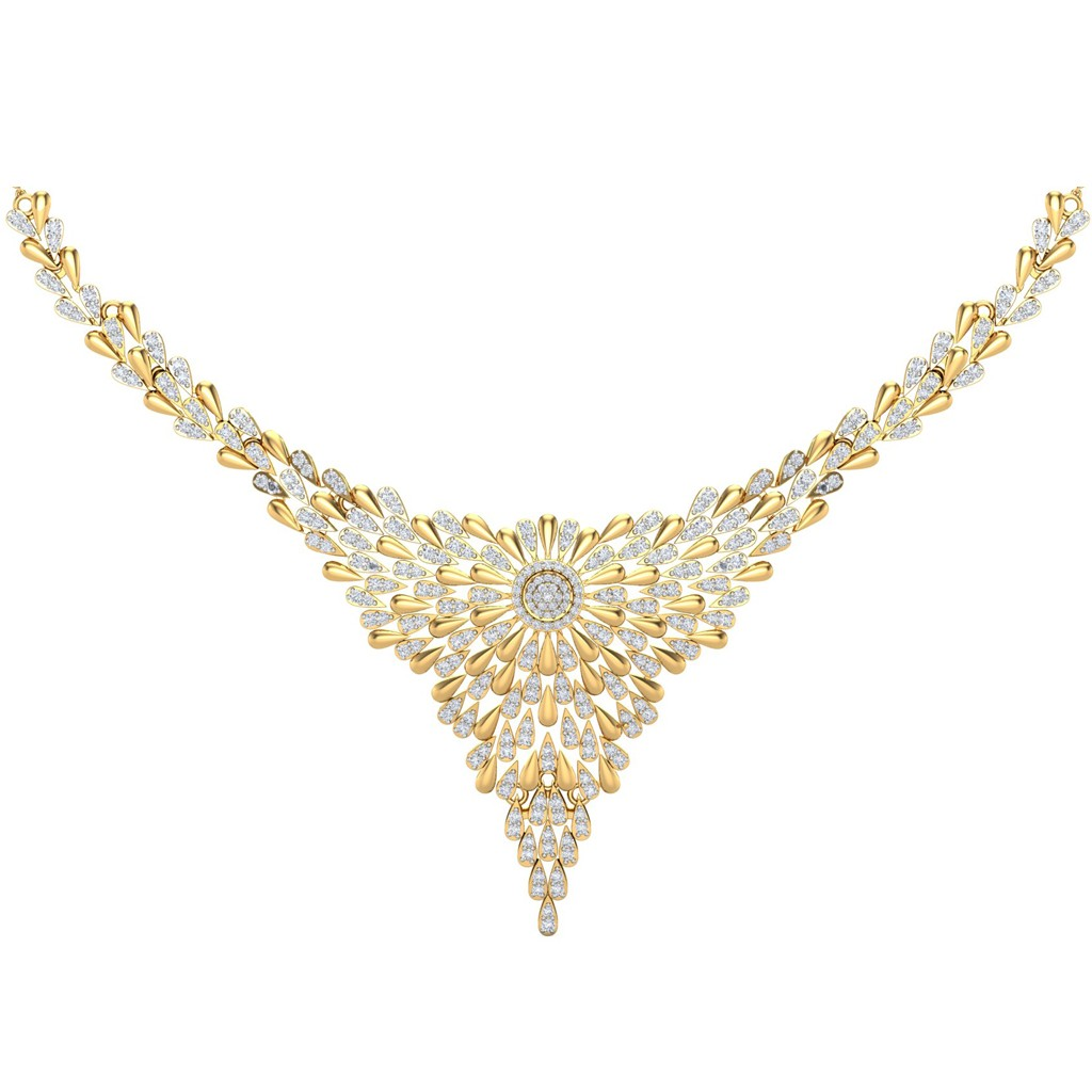 5334429fa45 The Celine Diamond Necklace - Diamond Jewellery at Best Prices in India