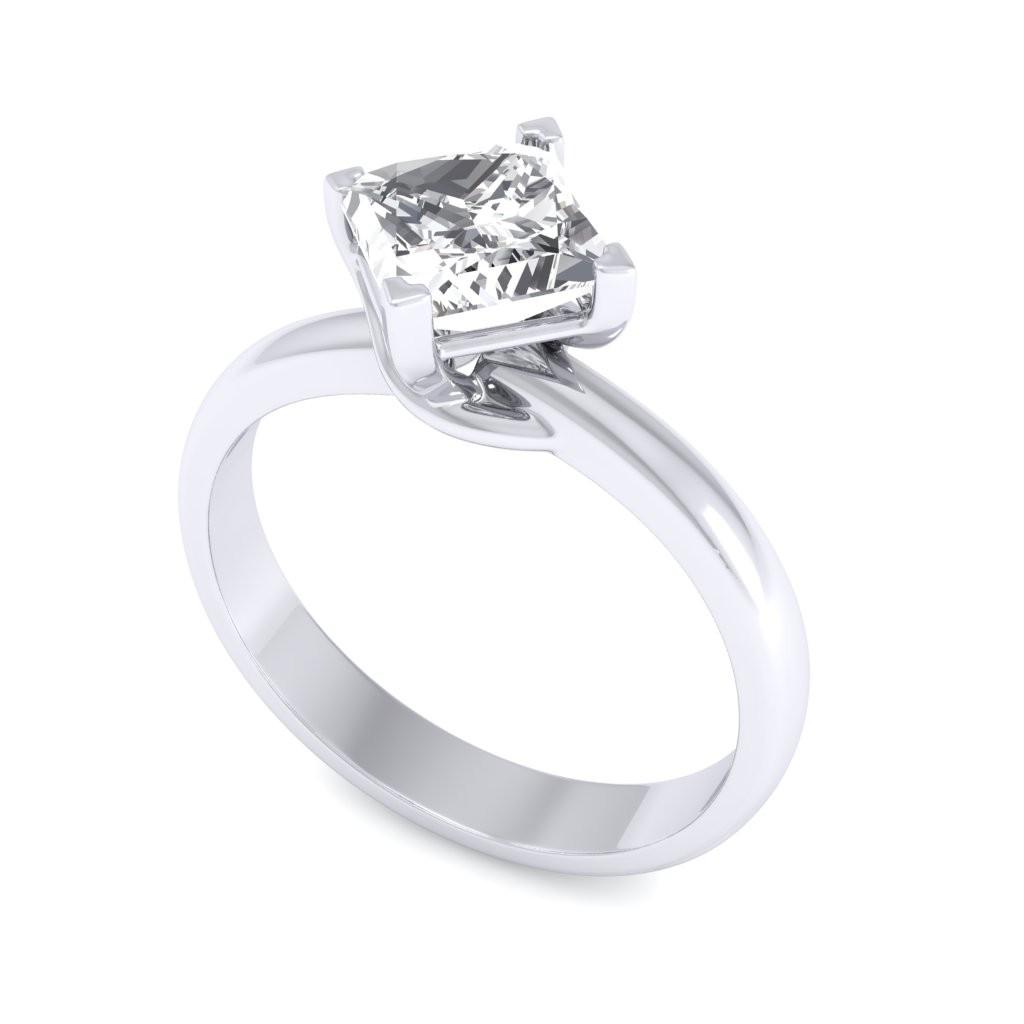0.40 carat 18K White Gold - Sheryl Engagement Ring