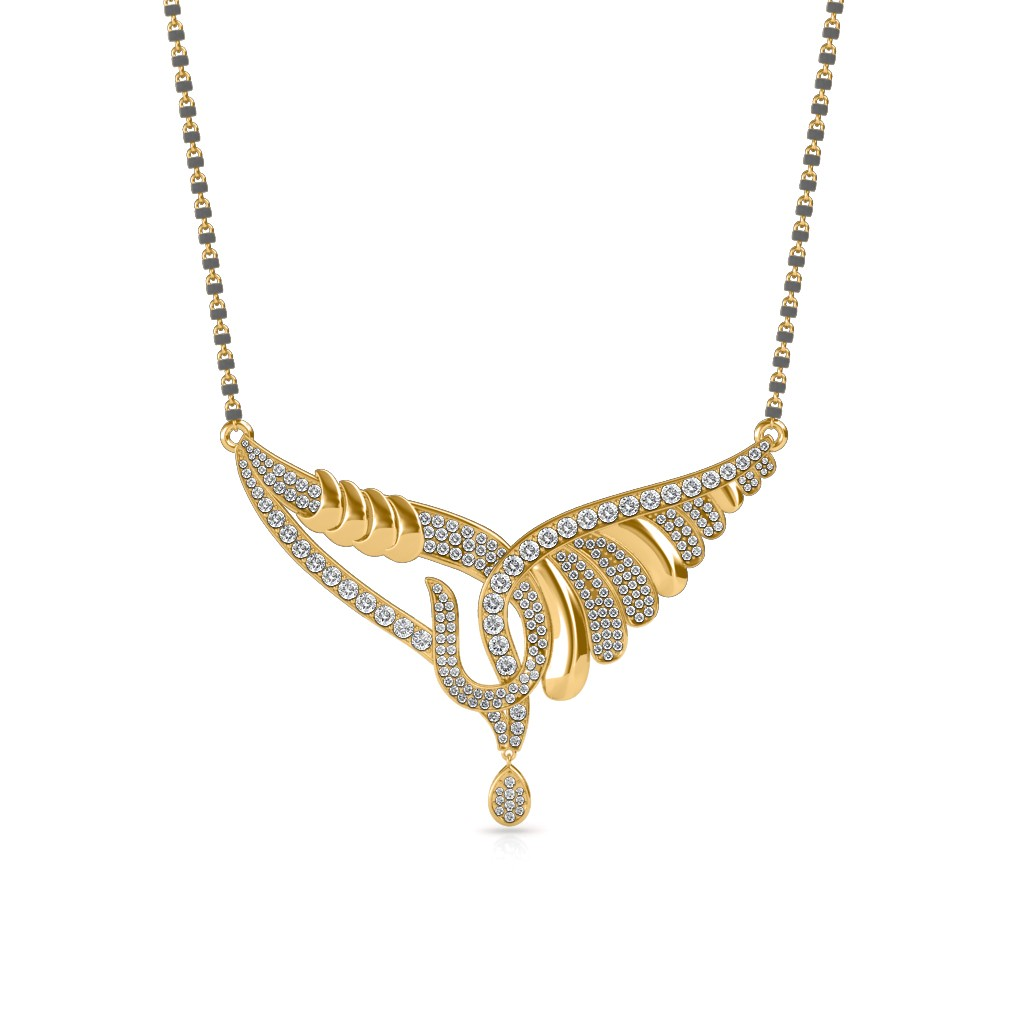 6a812b8781 The Sarana Mangalsutra - Diamond Jewellery at Best Prices in India ...