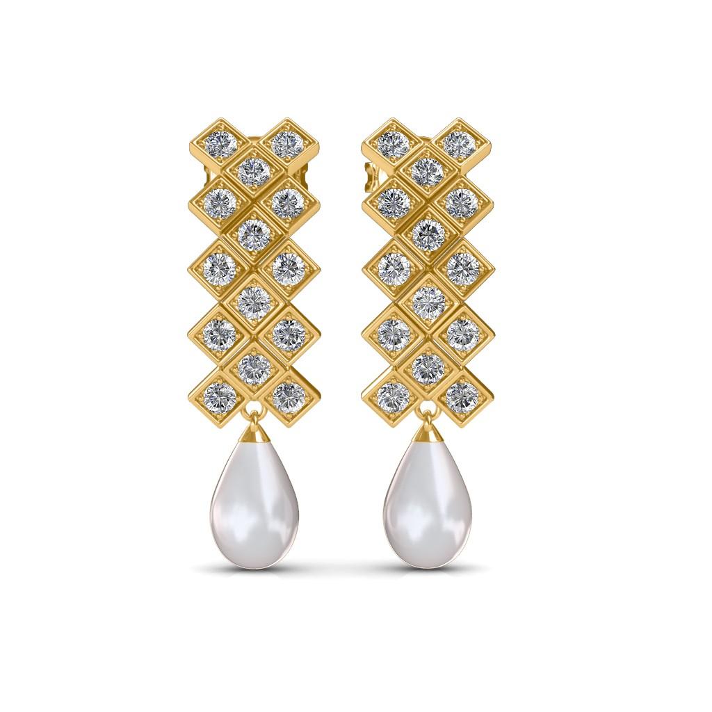 The Kara Pearl Earrings
