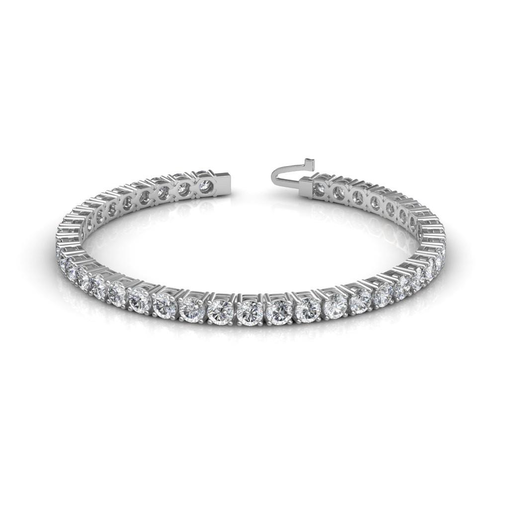 The Elegant Tennis Bracelet