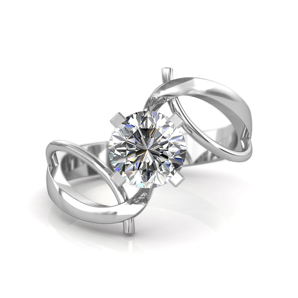The Infinity Twist Ring