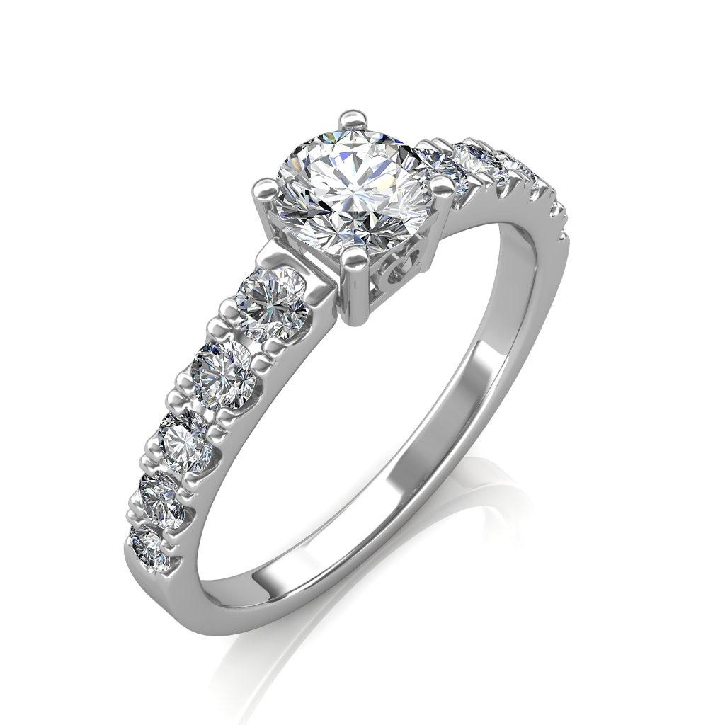 0.90 carat Platinum - True Love Engagement Ring