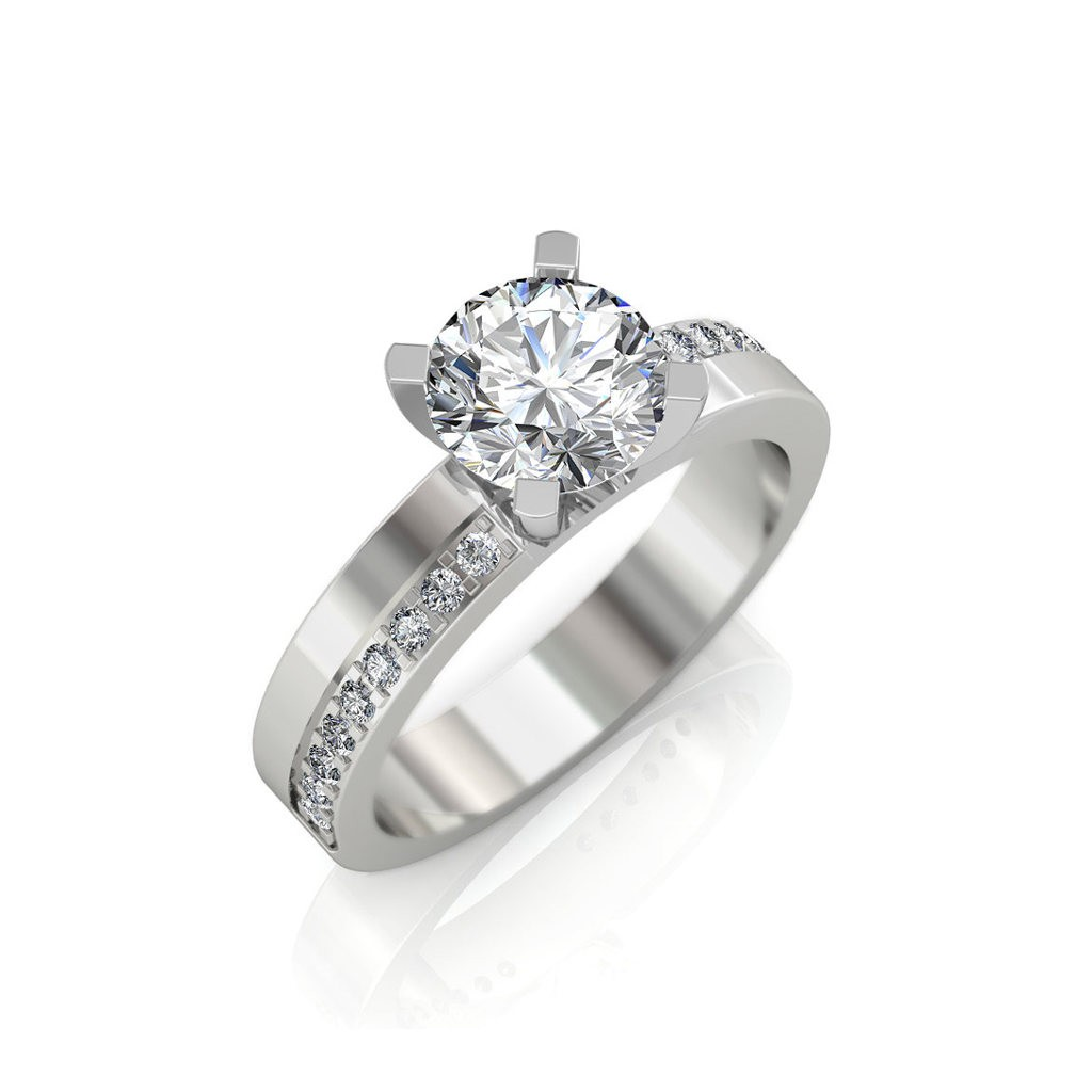 The Classic Solitaire Ring