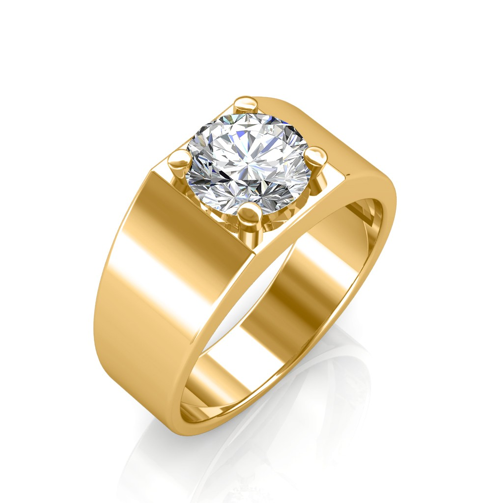 Diamond Solitaire Rings.