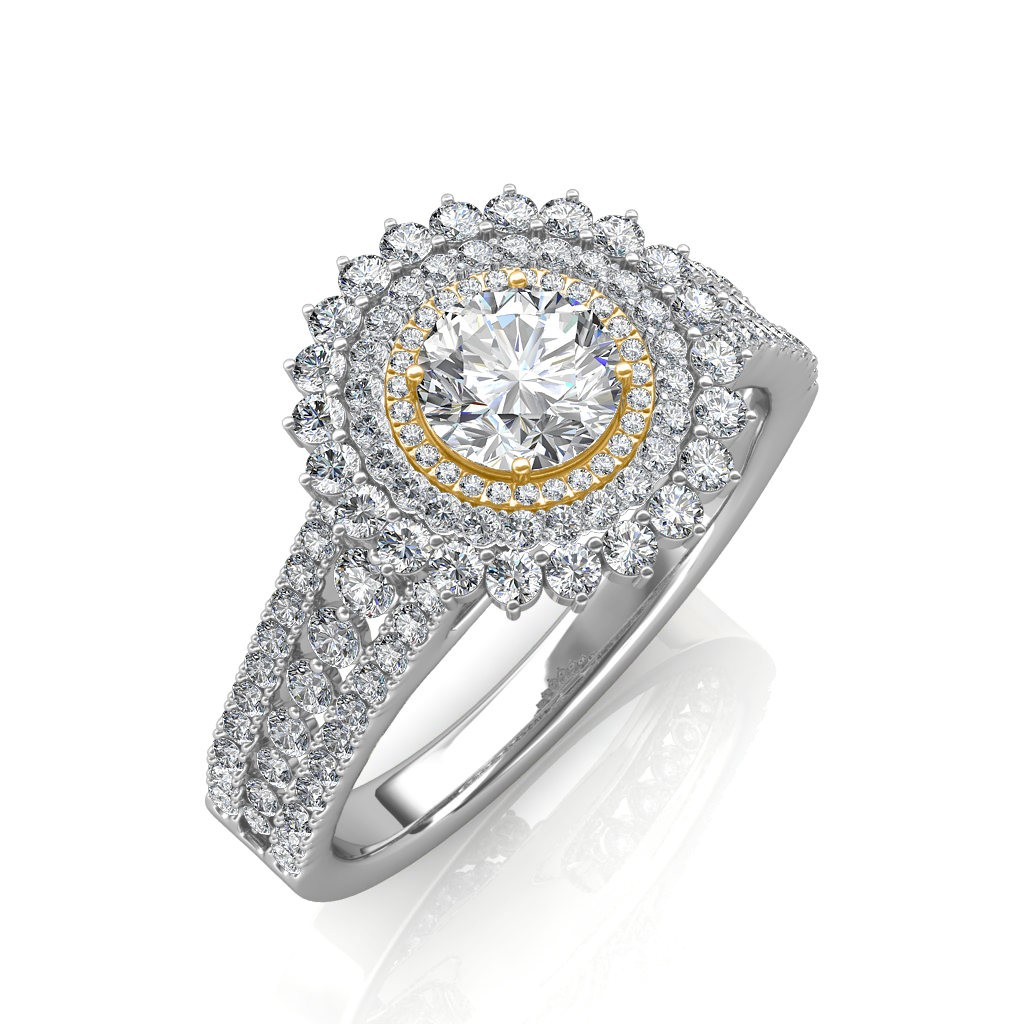The Bella Round Ring